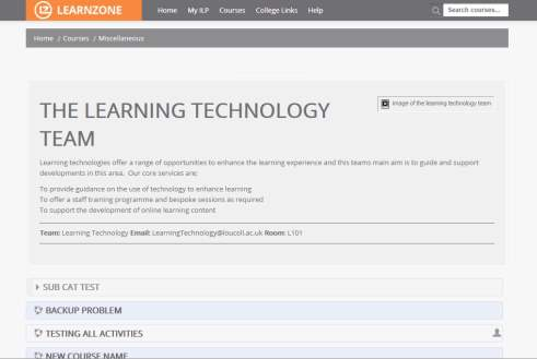 New LearnZone