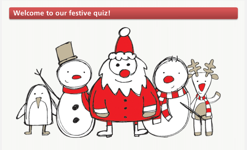 The best festive quiz… ever!