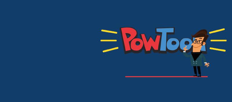 PowToons – Create animated clips