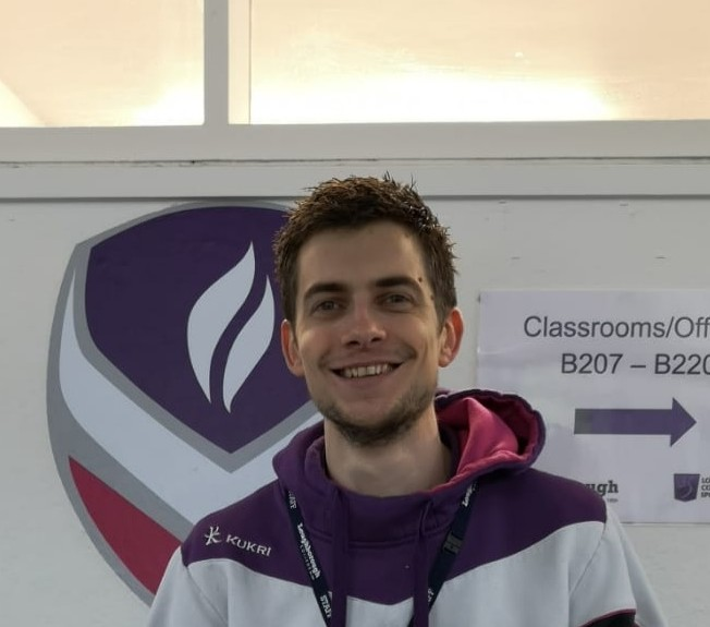 A photograph of a PGCE student on placement at the College.