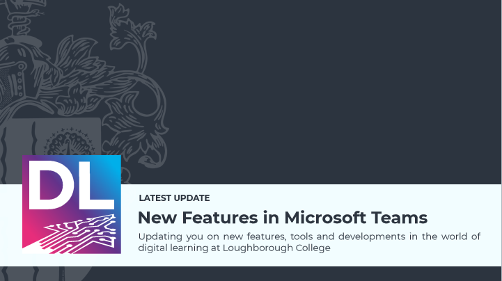 Quick Glance – Updates to Microsoft Teams